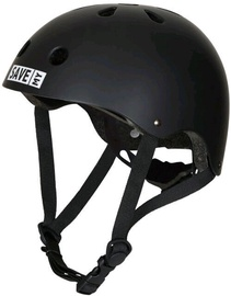 Save My Brain Helmet Black Medium