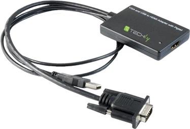 Адаптер Techly 301665 HDMI to SVGA with USB Audio Converter