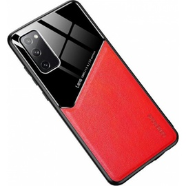 Чехол Mocco Lens Leather Back Case for Xiaomi Redmi Note 9T, красный