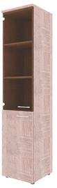 Skyland Xten Office Cabinet XHC 42.2 Left Sonoma Oak