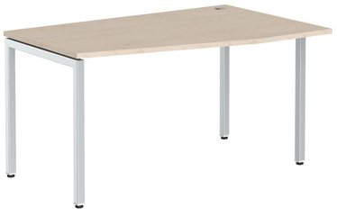 Skyland Ergonomic Table XSCT 149R Oak Tiara/Aluminum