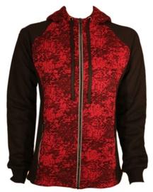 Kampsun Bars Training Jacket Black/Red L