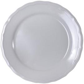 Bradley Julia Ceramic Dessert Plate 21cm Gray 12pcs