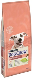 Purina Dog Chow Sensitive with Salamon 14kg
