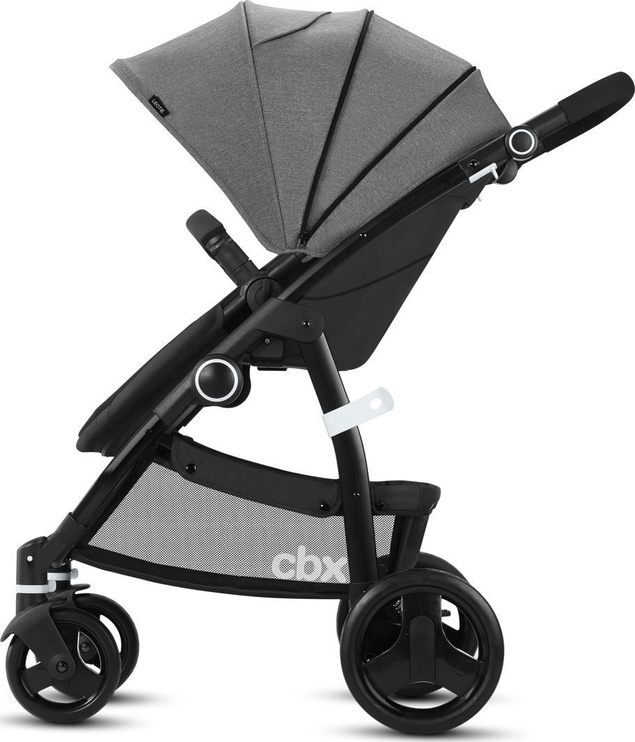 Universalus vežimėlis Cybex Leotie Pure 2in1 2018 Comfy Grey