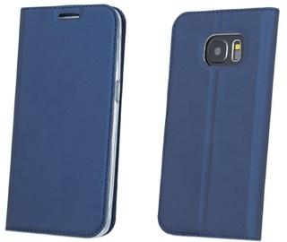 Blun Premium Smart Magnetic Fix Book Case For Samsung Galaxy J5 J530F Dark Blue