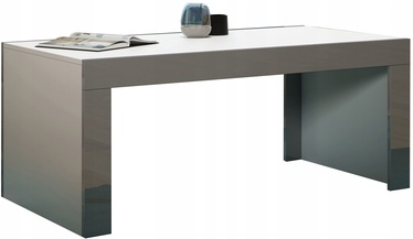 Kohvilaud Pro Meble Milano White/Grey, 1200x600x500 mm