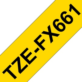 Kleebisprinteri lint Brother TZe-FX661, 800 cm