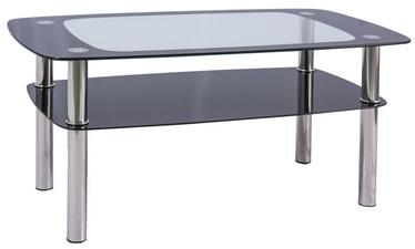 Kafijas galdiņš Signal Meble Rava C Transparent, 1000x600x550 mm