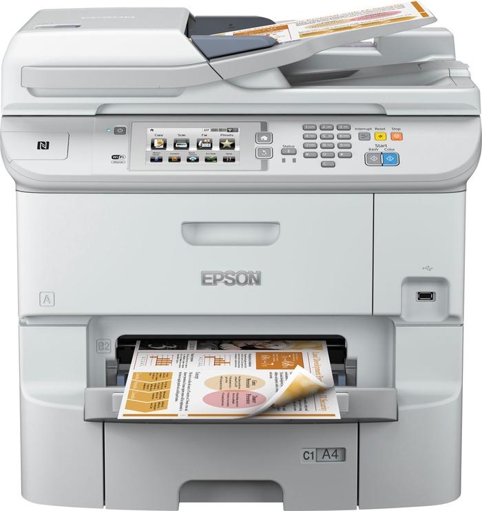 Многофункциональный принтер Epson WorkForce Pro WF-6590DWF, струйный, цветной