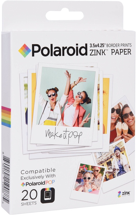 Polaroid 3x3 ZINK Photo Paper 20 Sheets