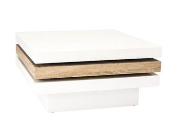 Signal Meble Trista II Rotating Coffee Table White