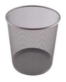 D.Rect Forpus Paper Basket 12l Gray