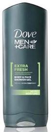 Dušas želeja Dove Men Extra Fresh, 400 ml