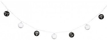 HQ String Light Black/White 10 LED