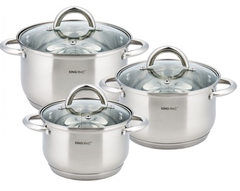 King Hoff KH-4446 Cookware Set 6pcs