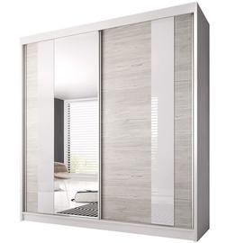 Idzczak Meble Wardrobe Multi 32 223cm White/Sonoma Oak