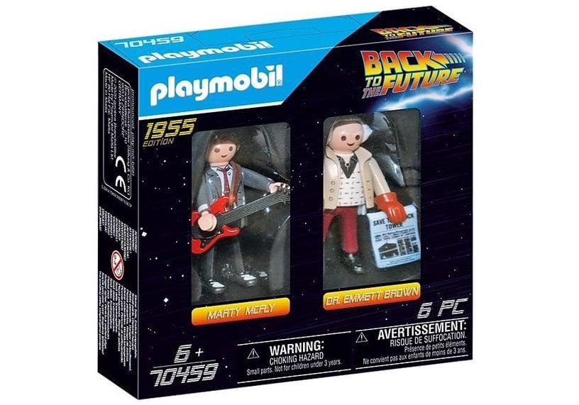 Žaislinė figūrėlė Playmobil Back To The Future Marty Mcfly And Dr. Emmett Brown 70459