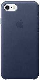 Apple Leather Back Case For Apple iPhone 7/8 Midnight Blue