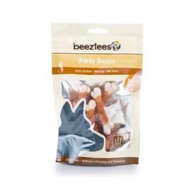 Skanėstai šunims Beeztees Party Bones, su vištiena, 85 gr
