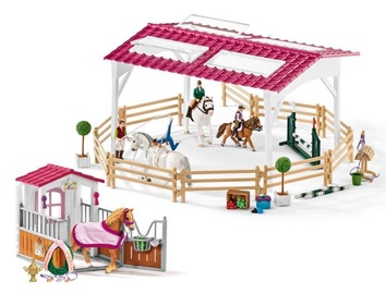 Schleich Horse Club Riding School With Horse Stall And Accesories 72118