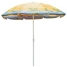 Pludmales lietussargs Verners Beach Sunshade ZR1813, 1800 mm, dzeltena