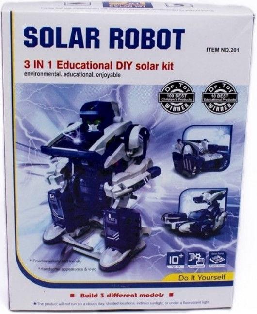 Конструктор робота на солнечной энергии 3 в 1 B8A