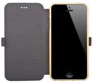Telone Super Slim Shine Book Case Samsung A310F Galaxy A3 Gold