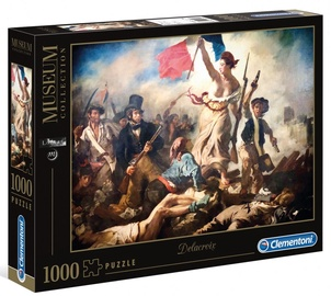 Clementoni Puzzle Museum Collection Liberty Leading The People 1000pcs 39549