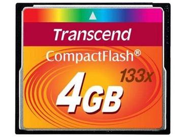 Transcend 4GB Compact Flash 133x