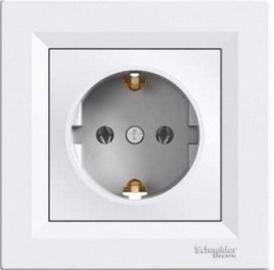 Kištukinis lizdas Schneider Electric Asfora EPH2900121, baltas