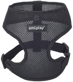 Шлейка Amiplay Air, черный, 330 - 480 мм x 280 мм