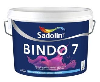 Seinavärv Sadolin Bindo 7, valge (BW) 2,5L