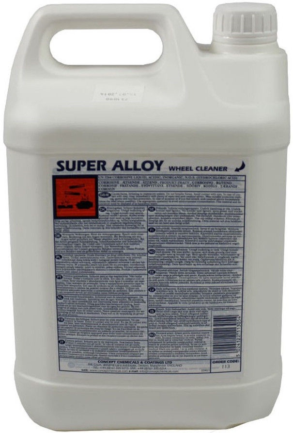 Concept Super Alloy Wheel Cleaner 5l