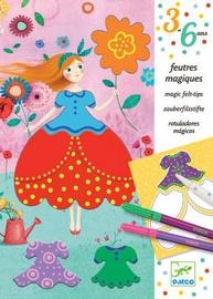 Djeco Magic Felt Tips Colouring Maries Pretty Dress
