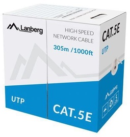 Lanberg Patch Cable UTP CAT5e 305m Grey