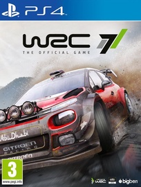 WRC 7: World Rally Championship PS4