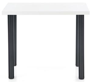 Обеденный стол Halmar Modex 2 90, белый/черный, 900x600x750мм