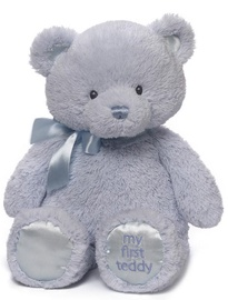 Gund My First Teddy Blue 38cm