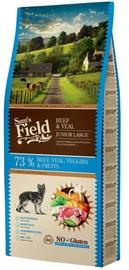 Сухой корм для собак Sam's Field Beef & Veal Junior Large, 13 кг