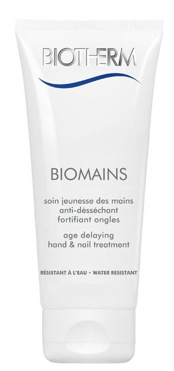 Rankų kremas Biotherm Biomains Age Delaying Hand & Nail Treatment - Water Resistant, 50 ml