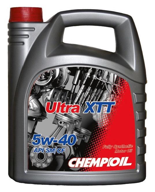 Motoreļļa Chempioil Ultra XTT, 5w40 4 l