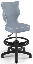 Детский стул Entelo Petit Black HC+F Size 4 JS06, синий/черный, 350 мм x 950 мм