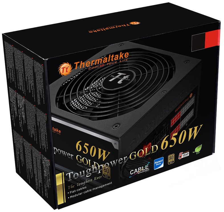 Thermaltake ATX 2.3 Toughpower 650W PS-TPD-0650MPCGEU-1