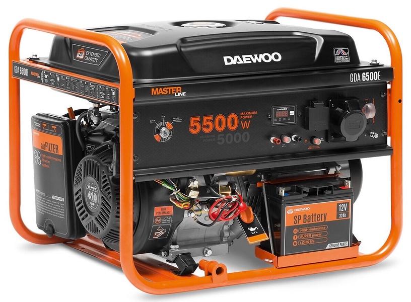 Генератор Daewoo GDA 6500E, 5000 Вт
