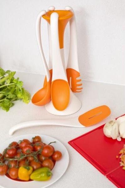 ViceVersa Kitchen Tools Set Attraction Orange 5pcs