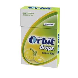 Ledinukai Orbit Drops Lemon Mint, 33 g
