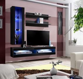 ASM Fly S5 Living Room Wall Unit Set Black