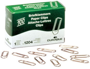 Durable Paper Clips 100pcs 77mm