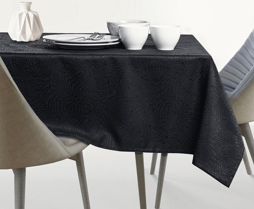 AmeliaHome Gaia AH/HMD Tablecloth Black 140x240cm